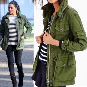 J. Crew Field Mechanic Jacket: Olive Army Green